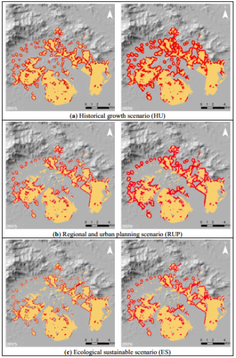 Simulating Urban Growth Using the SLEUTH Model in a Coastal Peri-Urban District in China