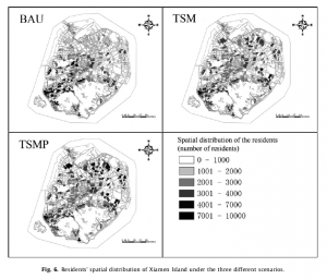 论文:Exploring the relationship between urban transportation energy consumptionand transition of settlement morphology A case study on Xiamen Island, China